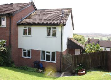 Thumbnail 1 bed end terrace house to rent in Windrush Rise, Ottery St. Mary