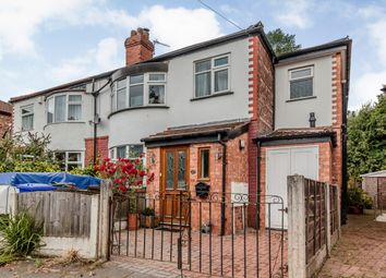 Thumbnail 4 bed semi-detached house for sale in Sibson Road, Manchester, Greater Manchester