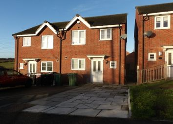 Thumbnail 3 bed semi-detached house to rent in East Street, Doe Lea, Chesterfield