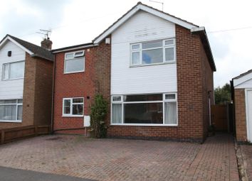 Thumbnail 4 bedroom detached house for sale in Iris Avenue, Glen Parva, Leicester
