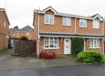 Thumbnail Semi-detached house for sale in Dallow Crescent, Burton-On-Trent