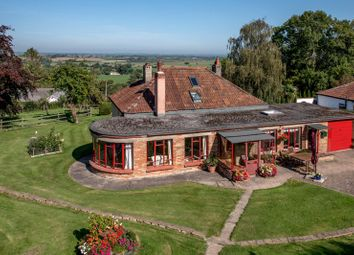 Thumbnail 3 bed detached bungalow for sale in Cathanger Lane, Fivehead, Taunton