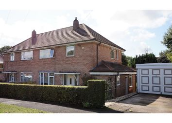 Thumbnail 3 bed semi-detached house for sale in Sandringham Drive, Leeds