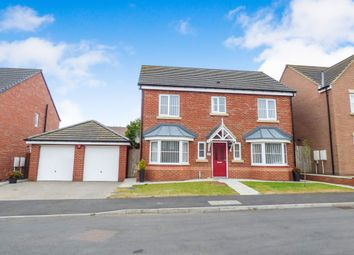 Thumbnail 4 bed detached house to rent in Carnoustie Close, Ashington