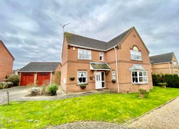 Thumbnail 4 bed detached house for sale in Wimberley Close, Weston, Spalding