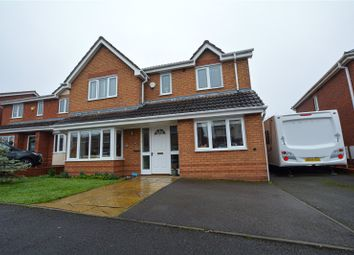 Thumbnail 4 bed detached house for sale in Petard Close, Two Gates, Tamworth, Staffordshire