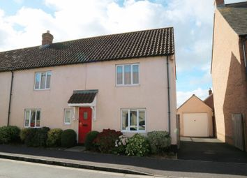 Thumbnail 3 bedroom semi-detached house for sale in Dunkleys Way, Taunton