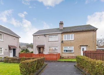 Thumbnail 2 bed semi-detached house for sale in Caplaw Road, Paisley, Renfrewshire