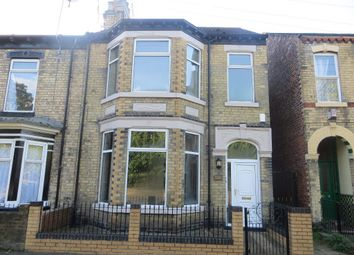 Thumbnail 4 bedroom end terrace house for sale in Spring Bank West, Hull
