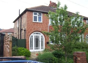 Thumbnail 3 bedroom property to rent in Nunthorpe Gardens, York