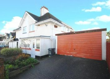 Thumbnail 3 bed semi-detached house for sale in 45 Sid Park Road, Sidmouth, Devon