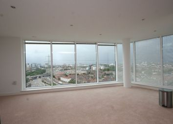 Thumbnail 2 bed flat to rent in Western Gateway, Royal Victoria Docks - E16,