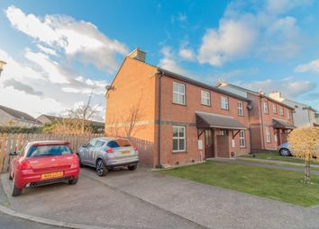 Thumbnail 2 bed town house for sale in 16 Ash Close, Peel