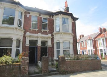 Thumbnail 3 bedroom maisonette to rent in Shirley Road, Southsea, Hampshire