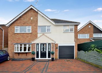 Thumbnail 5 bed detached house for sale in Coleman Road, Fleckney, Leicester