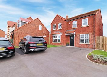 Thumbnail 4 bed detached house for sale in Rains Avenue, Hartlepool