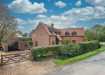 Thumbnail 4 bed detached house for sale in Flaxlands, Carleton Rode, Norwich