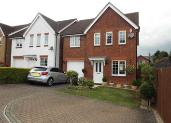 Thumbnail 4 bed detached house for sale in Gregory Close, Meppershall, Shefford, Bedfordshire