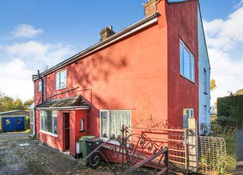 Thumbnail 3 bed semi-detached house for sale in The Street, Hempnall, Norwich