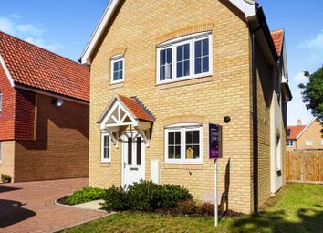 Thumbnail 3 bed detached house for sale in Harvey Way, Waterbeach, Cambridge