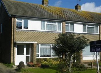 Thumbnail 3 bed end terrace house to rent in Rustington, Littlehampton