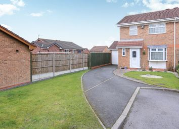 Thumbnail 3 bed semi-detached house for sale in Berrington Drive, Coseley, Bilston