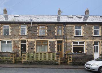 Thumbnail 3 bed terraced house for sale in Duffryn Terrace, Wattsville, Cross Keys, Newport