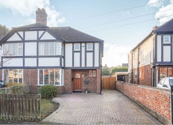 Thumbnail 3 bed semi-detached house for sale in The Hollow, Littleover, Derby