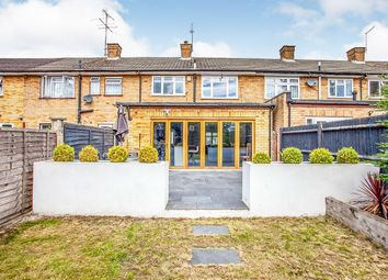 Thumbnail 3 bed terraced house for sale in Leaford Crescent, Watford, Hertfordshire