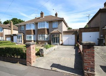 Thumbnail 3 bedroom semi-detached house for sale in Amberley Close, Swindon