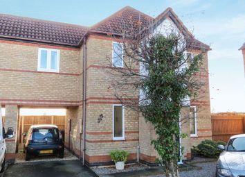 Thumbnail 3 bed semi-detached house for sale in Primrose Close, Morton, Bourne