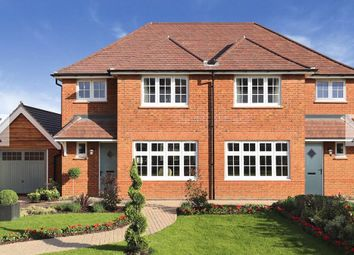 Thumbnail 3 bed semi-detached house for sale in Orwell Drive, Arborfield Green, Reading
