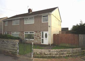 Thumbnail 3 bed semi-detached house for sale in Heol Hensol, Beddau, Pontypridd