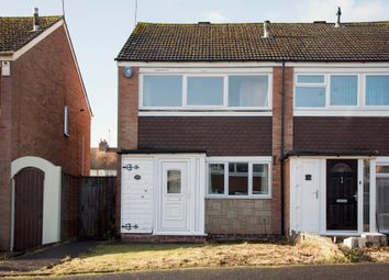 Thumbnail 2 bed semi-detached house for sale in The Dell, Wollaston, Stourbridge