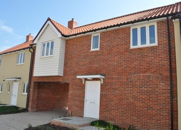 Thumbnail 2 bedroom terraced house for sale in Stirling Close, Chedburgh, Bury St Edmunds
