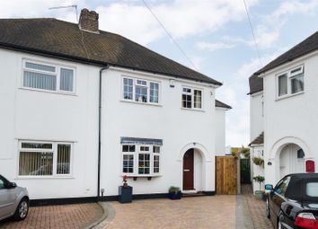 Thumbnail 4 bed semi-detached house for sale in Charter Road, Burnham, Slough
