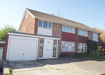 Thumbnail 3 bed semi-detached house for sale in Coombe Drive, Sittingbourne