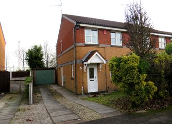 Thumbnail 3 bed semi-detached house for sale in Loxley Drive, Mansfield