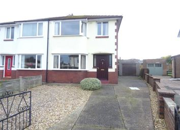 Thumbnail 3 bed semi-detached house for sale in Etterby Lea Crescent, Carlisle, Cumbria