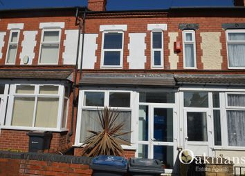 Thumbnail 3 bed terraced house to rent in Westminster Road, Selly Oak, Birmingham, West Midlands.