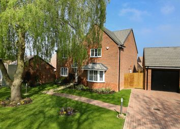 "Thumbnail 4 bedroom detached house for sale in ""Knightsbridge"" at Eldon Way, Crick Industrial Estate, Crick, Northampton"