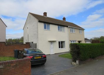 Thumbnail 3 bedroom semi-detached house for sale in Churchill Road, Walsall