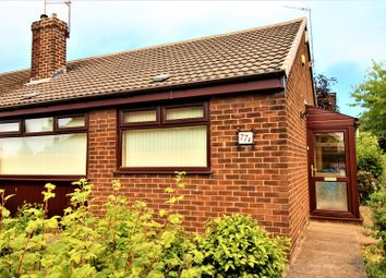 Thumbnail 2 bed semi-detached bungalow for sale in Higher House Close, Chadderton, Oldham