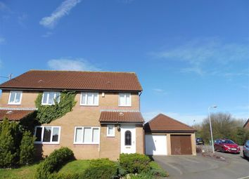 Thumbnail 3 bedroom property to rent in Clos Nant Ddu, Pontprennau, Cardiff