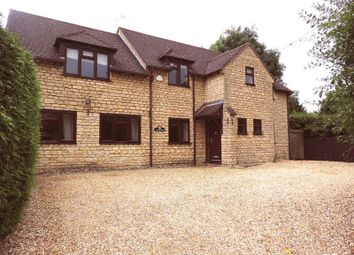 Thumbnail 5 bedroom detached house to rent in Harrold Road, Lavendon, Olney