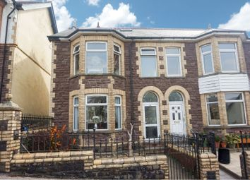 Thumbnail 4 bed semi-detached house for sale in Ton Mawr Avenue, Pontypool