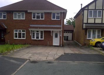 Thumbnail 3 bedroom semi-detached house to rent in Welland Grove, Willenhall