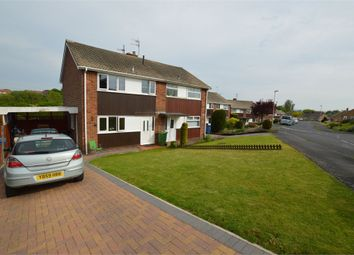 Thumbnail 3 bed semi-detached house for sale in 9 Coniston Gardens, Scarborough, North Yorkshire