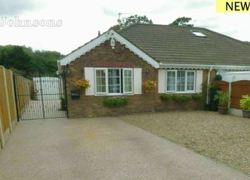 Thumbnail 2 bed semi-detached bungalow for sale in Rose Crescent, Scawthorpe, Doncaster.