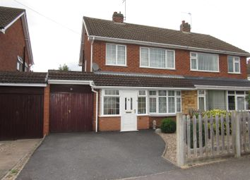 Thumbnail 3 bed semi-detached house for sale in Hawthorn Drive, Blaby, Leicester
